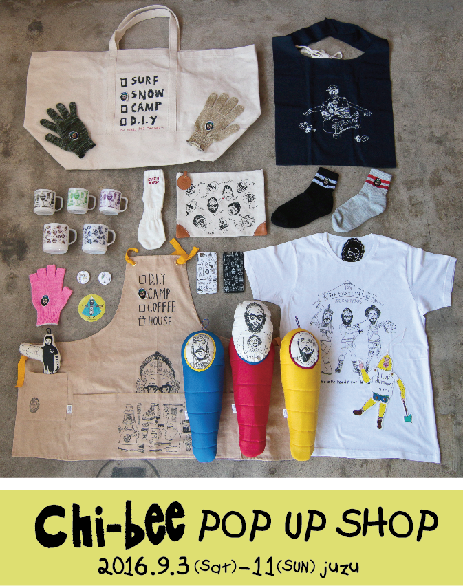 Chi-bee POP UP SHOP