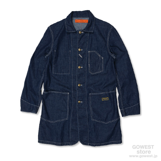 ENGINEER COAT/8oz WORK DENIM /RESTOCKED