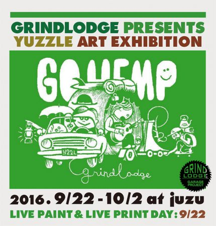 GRINDLODGE PRESENTS    YUZZLE ART EXHIBITION