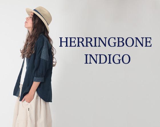 HERRINGBONE INDIGO