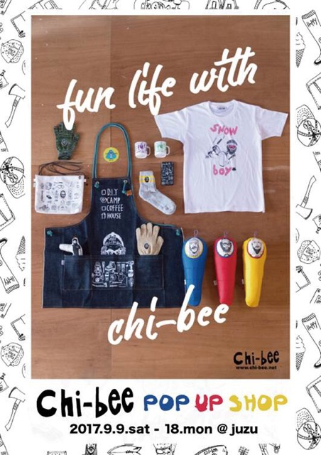 Chi-bee POP UP SHOP @juzu