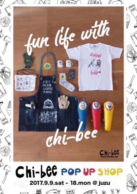 Chi-bee POP UP SHOP @juzu