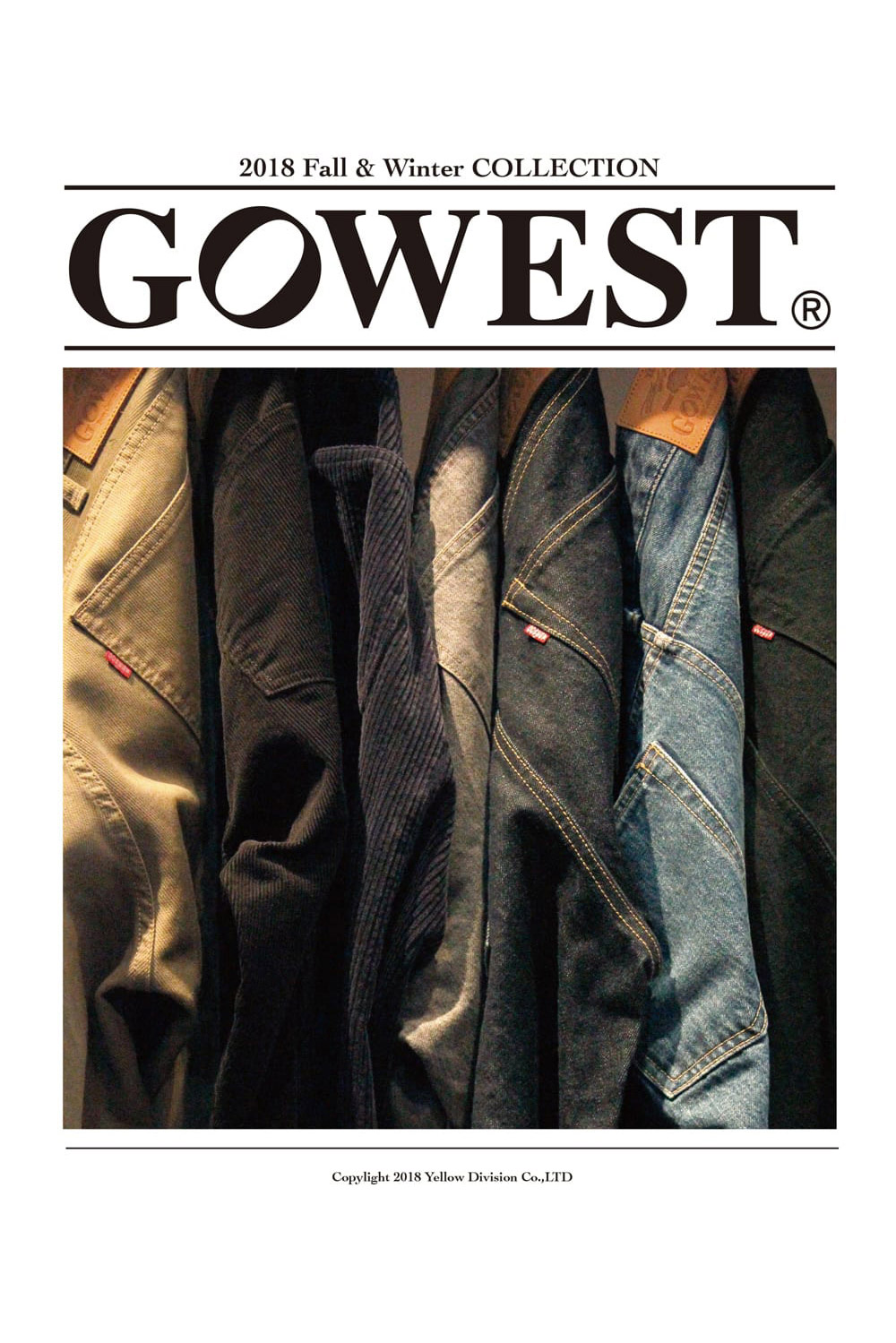 GOWEST 2018 Fall&Winter LOOKBOOK