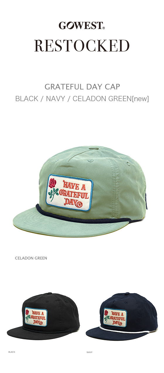 [再入荷] GRATEFUL DAY CAP