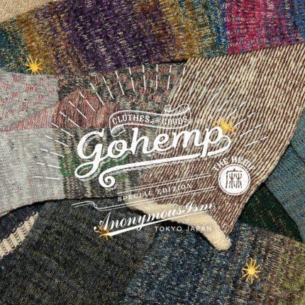 【GOHEMP】GOHEMP×ANONYMOUSISM  NEW RELEASE