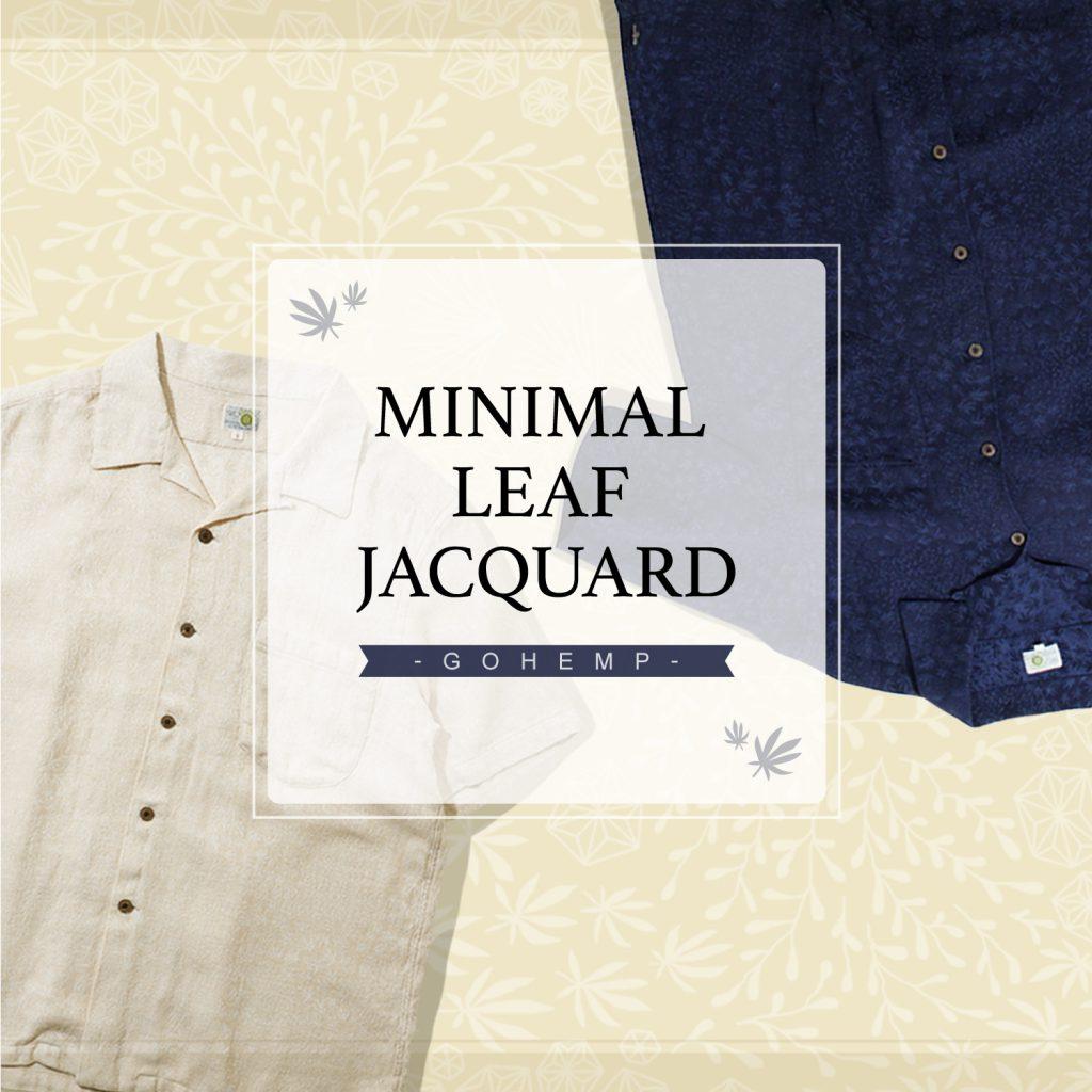 【GOHEMP】MINIMAL LEAF JACQUARDシリーズ入荷