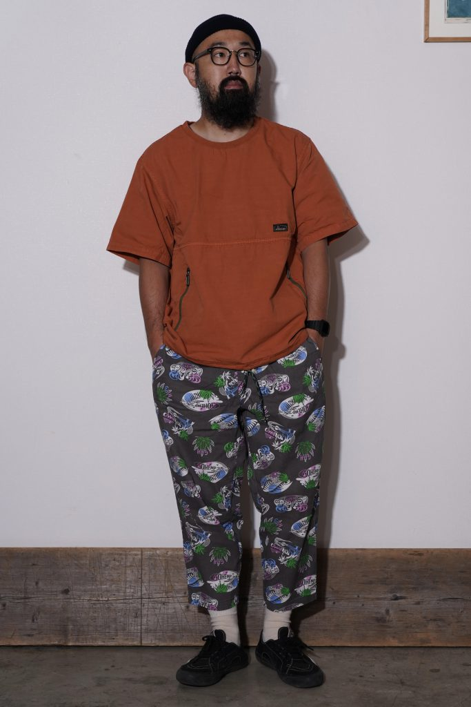 "Styling ""GO NATURAL""PANTS/H/C CLOTH"""