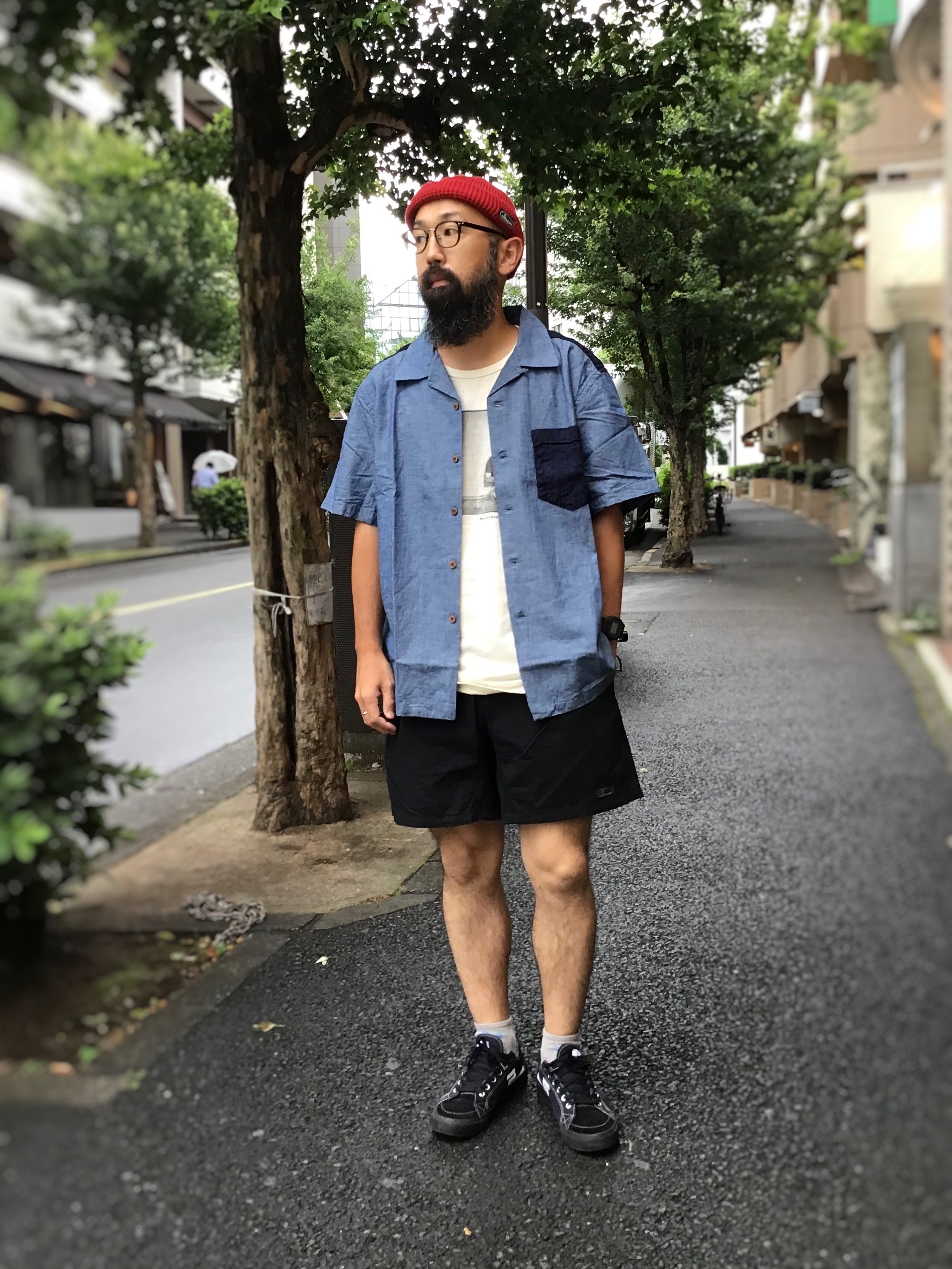 "Styling""OPEN MIND SHIRTS H/C DUNGAREE"""