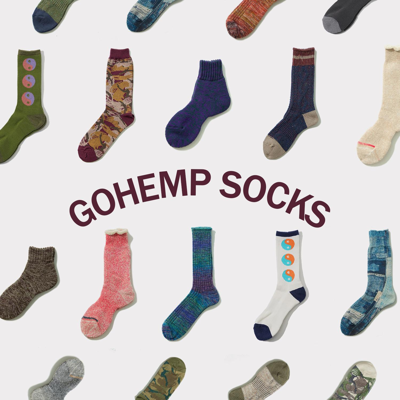 【GOHEMP】2020 FW SOCKS