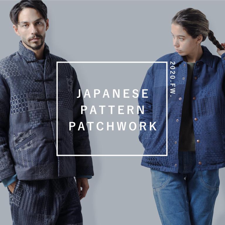 【GOHEMP】JACKET/JAPANESE PATTERN PATCHWORK を入荷しました