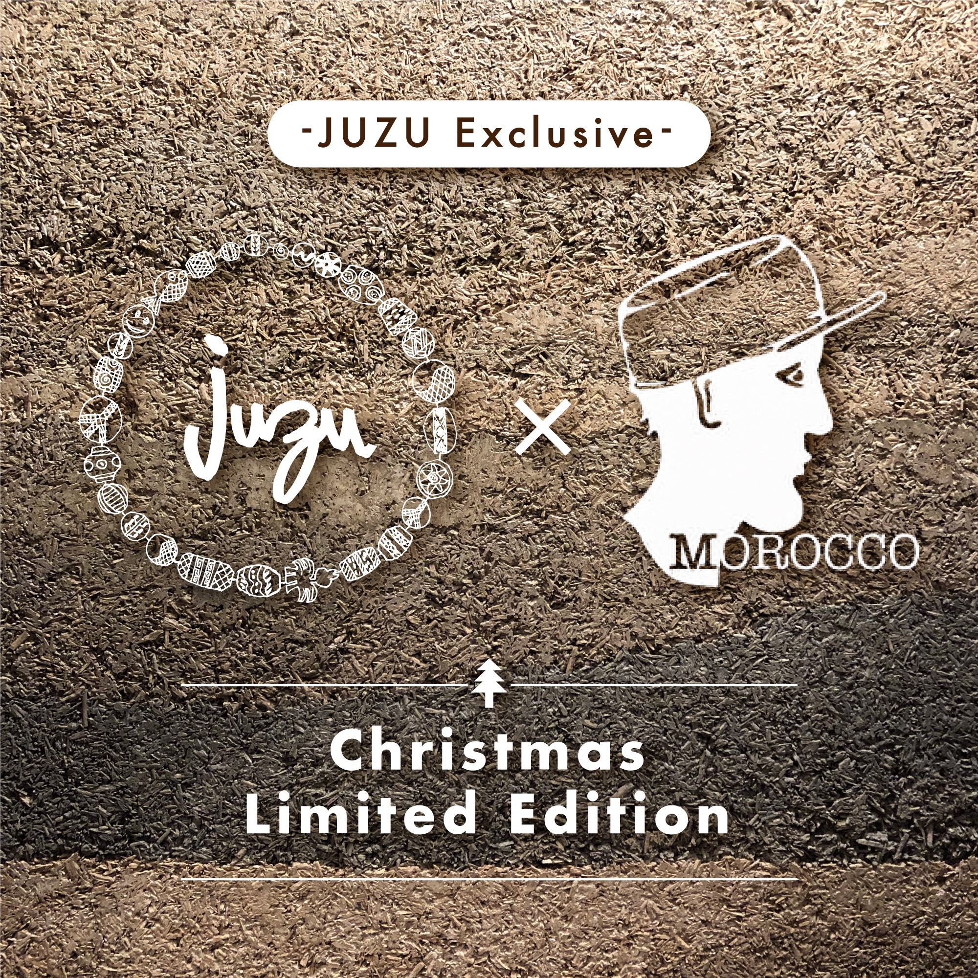 "JUZU×Morocco""Christmas Limited Item""drop"