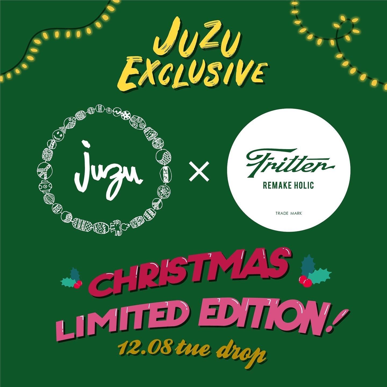 "JUZU×FRITTER ""Christmas Limited Item"" Release!!"